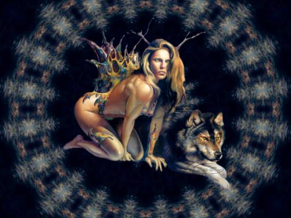 La femme sauvage de l ariege